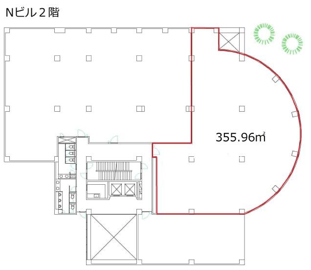エヌビル空室2階